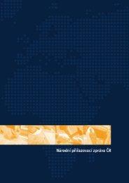 Národní přiřazovací zpráva ČR - Národní ústav pro vzdělávání