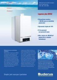 Ciepło jest naszym żywiołem Logamax plus GB162 - Buderus