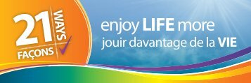 21 Ways to Enjoy Life More - Winnipeg Regional Health Authority
