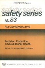 Safety_Series_083_1987 - gnssn - International Atomic Energy ...