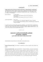usnesení o nařízení dražebního jednání (dražební ... - OKdrazby.cz