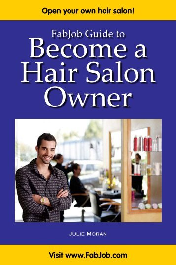 Become A Hair Salon Owner - Fabjob.com