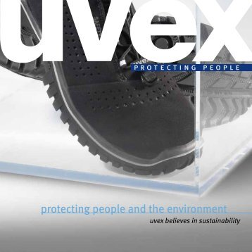 protecting people and the environment - UVEX SAFETY