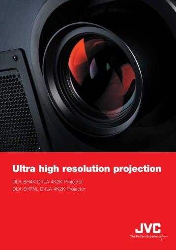 Ultra high resolution projection - Videocation