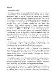 Prehľad vývoja kultúry 113.35 Kb - Mesto Senica