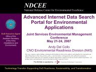 Advanced Internet Data Search Portal for Environmental Applications