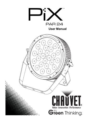 PiXPAR24_UM_Rev3_WO.pdf - CHAUVET® Lighting