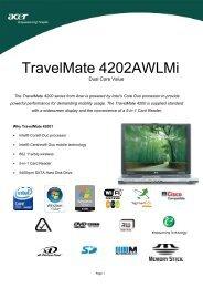 TravelMate 4202AWLMi - OSCS