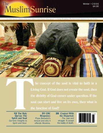 2006, IV - The Muslim Sunrise