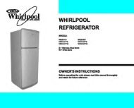 Whirlpool WRID45TS Product Manual - Comparison.com.au