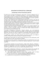 Bando per contratti di insegnamento - Università degli Studi del Molise