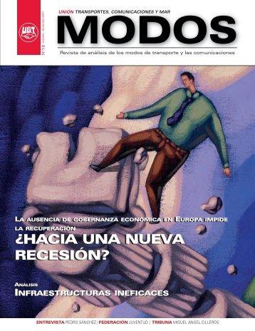 Revista Modos 16 - TCM-UGT