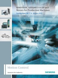 Catalog PM21 - Siemens Industry, Inc.