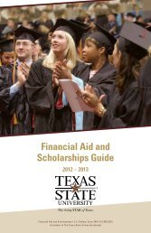 Financial Aid and Scholarships Guide