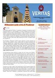 Veritas 87, marzo 2013 - Fraternità Sacerdotale di San Pio X