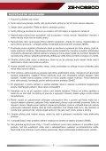 UŽIVATELSKÝ NÁVOD - Zenec - Page 3