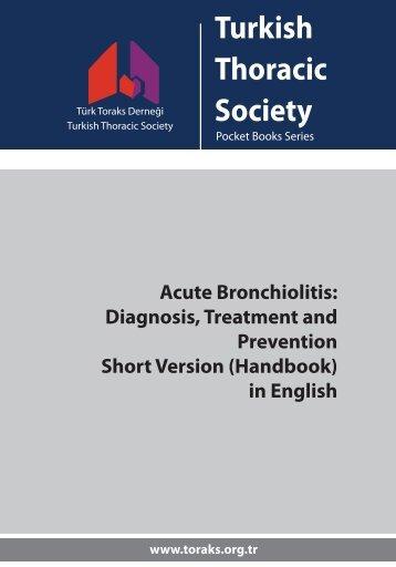 Acute Bronchiolitis Diagnosis Treatment and Prevention