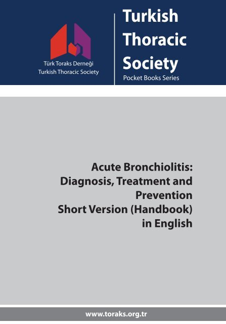 Acute Bronchiolitis Diagnosis Treatment and Prevention