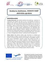 Pielikums - Projekta aktivitasu apraksts.pdf - Latvijas vides zinātnes ...