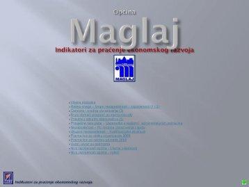 Indikatori za praćenje ekonomskog razvoja Općine Maglaj - REZ