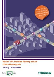 Review of Controlled Parking Zone E (Stoke Newington)