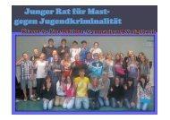 Präsentation zum Thema Jugendkriminalität - Katja Mast
