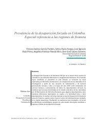 Prevalencia de la desaparición forzada en Colombia. Especial ...