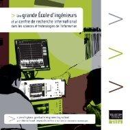 Voir la plaquette (en format pdf) - Télécom Bretagne