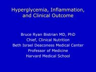 Hyperglycemia, Inflammation, and Clinical Outcome