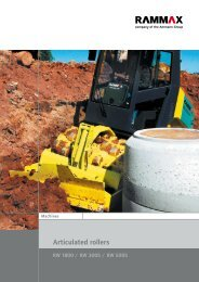 Single Drum Rollers 1.8 to 5.0t.pdf - Ammann Equipment
