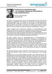 Positivliste für Einzelfuttermittel - Deutsche Vilomix Tierernährung ...