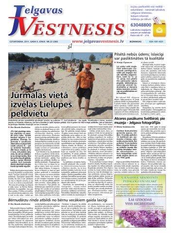2011.gada 9.jūnijs Nr.23(208) - Jelgavas Vēstnesis