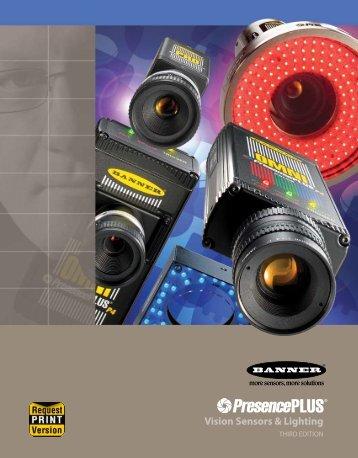 PresencePLUS Vision Sensors and Lighting Brochure