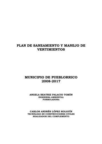 PSMV pueblorrico - Corantioquia