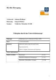 Die 68er Bewegung Fahrplan durch das Unterrichtskonzept - TIBS.at