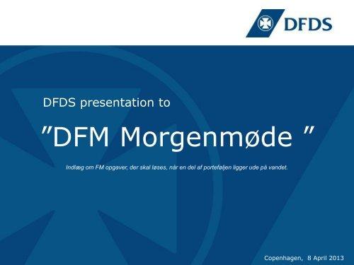 Henrik Svanes præsentation - Dansk Facilities Management