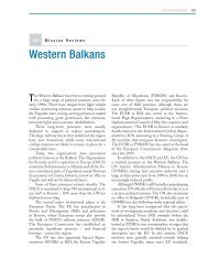 Wester Balkans - Center on International Cooperation