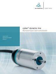 cyber® dynamic line Bürstenlose Servomotoren - WITTENSTEIN alpha