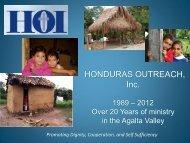 HONDURAS OUTREACH, Inc.