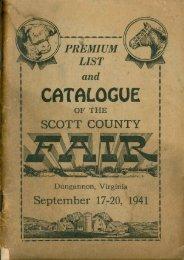 Scott County Fair - 1941 - Kennys Place