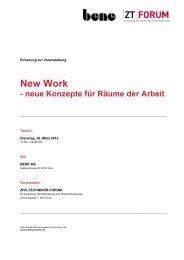 New Work - neue Konzepte für Räume der Arbeit - Kammer der ...
