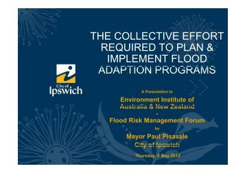 Paul Pisasale - Environment Institute of Australia and New Zealand
