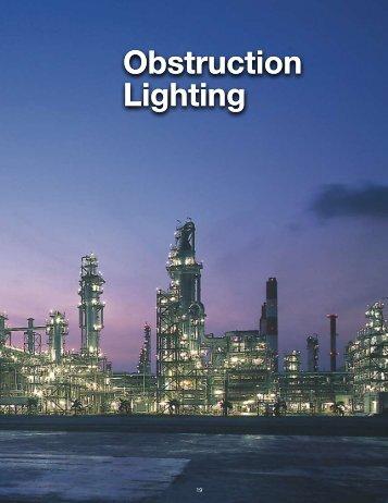 obstruction lighting (led, incandescent)