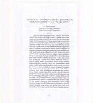 aboriginal land rights issueas recorded in oodgeroo noonuccal's ...