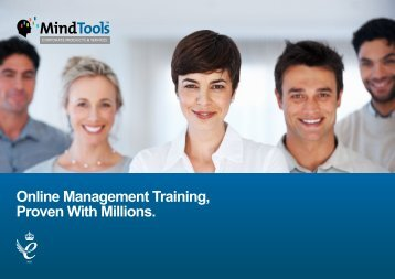 Online Management Training, Proven With Millions. - Mind Tools