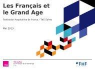 Les Français et le Grand Âge - Capgeris