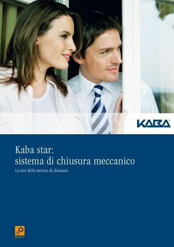Kaba star: sistema di chiusura meccanico
