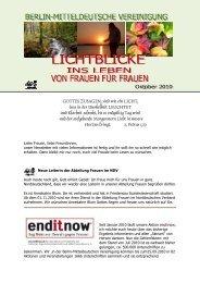Lichtblicke 07 - Christlichefrauen.net