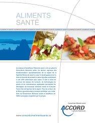 ALIMENTS SANTé - Québec International