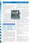 ELECTROPACK PRO® - caladair - Page 2